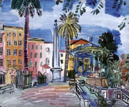 Place d'Hyères by Raoul Dufy