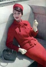 Jean Patou suit 1957