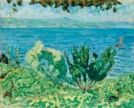 Marine Saint Tropez by Pierre Bonnard