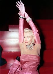 "Marilyn Monroe in the movie ""Gentlemen prefer blondes"