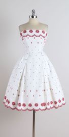 Cotton dress by Ruth Chagnon