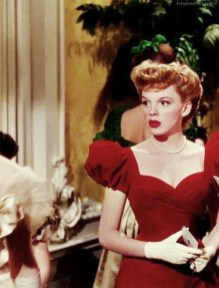 "Judy Garland in ""Meet me at St Louis"