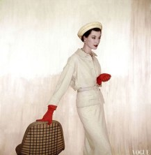 Barbara Mullen photographed by Clifford Coffin in 1953