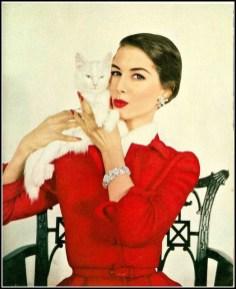 Nancy Berg, Vogue October 1953