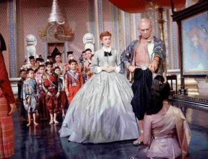 Deborah Kerr and Yul Brynner