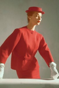 Balenciaga outfit, Vogue 1952
