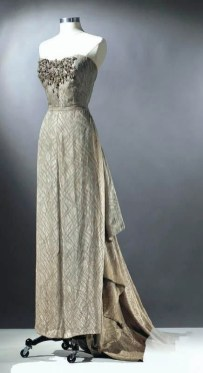 "Dress worn by Ethel Merman in ""Call me Madam"" 1953"