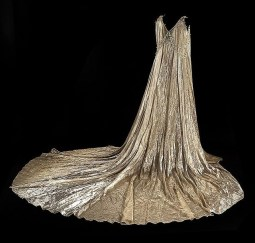 """Dress worn by Janet Hadland in """"Funny girl"""""""