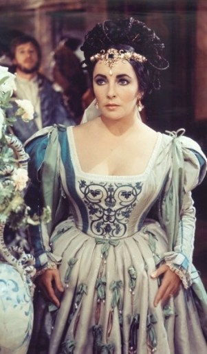 "Elizabeth Taylor in ""Taming of the Shrew"" 1967"