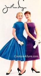 Jonathan Logan dresses 1955