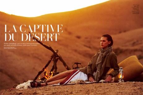 """La captive du desert"""