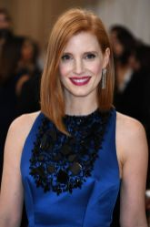 Jessica Chastain at the Met Gala 2016