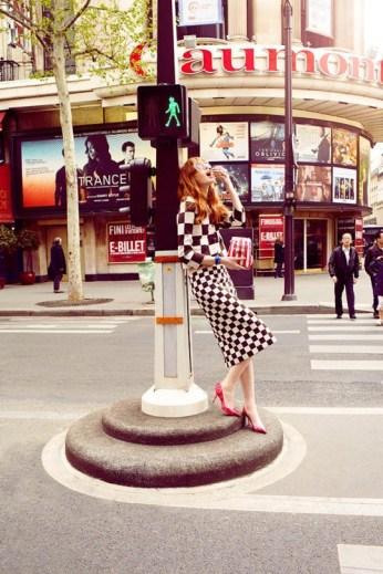 Magdalena Jasek for Elle Poland by Agata Pospieszynska