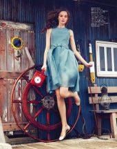 alexandra smit by akinori ito for spur may 2014..