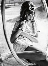 Edie Campbell by Sebastian Kim for Vogue Germany (March 2013).