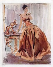 Molyneux evening gown 1938