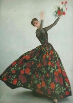 Anne St Marie for Vogue, May 1957.