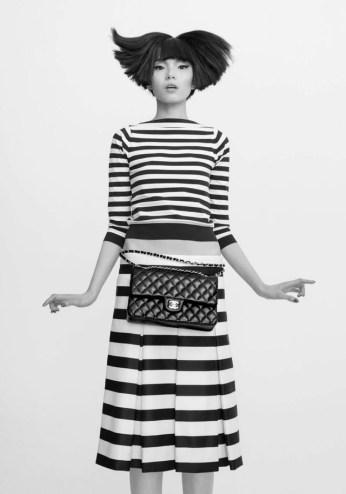 Xiao Wen for CR Fashion Book