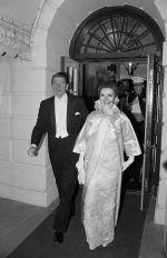 Nancy Reagan and President Ronald Reagan