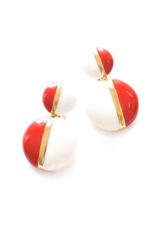 red_and_white_enamel_drop_earrings 1980s