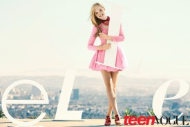 TEEN VOGUE- Elle Fanning by Sebastian Kim. February 2012.