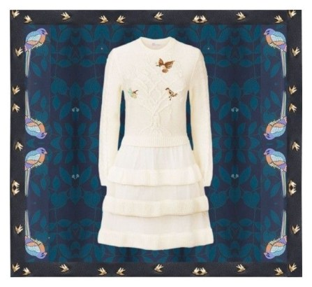Dreaming of birds (Red Valentino and Elizabeth and James and See by Chloé)