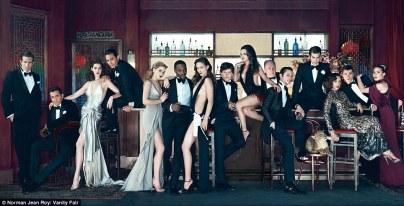Vanity Fair 2011 Hollywood issue.