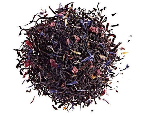 L'étoile du 25 by Comptoire Français du thé : Perfumed black tea (almond, cherry, cornflower petals and cranberry)