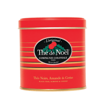 Thé de Noel by La compagnie coloniale : Perfumed black tea (cherry, almond and cornflower petals)