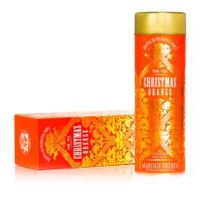 Orange Christmas tea : Perfumed black tea (orange and spices)