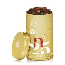 Thé N°25 by Palais des Thés : perfumed black tea (vanilla, orange peels, rose petals, almond, cardamom, clove)