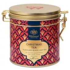 Christmas tea by Whittard : Perfumed black tea (clove, orange peels, vanilla and yellow safflower)