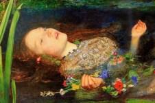 Ophelia by john Everett Millais