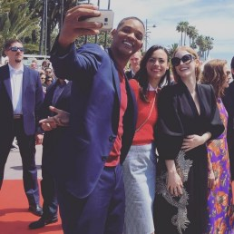 Will Smith, Berenice Bejo and Jessica Chastain