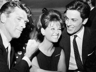 Burt Lancaster, Claudia Cardinale and Alain Delon