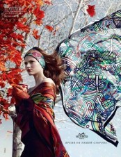 Fall 2012 Hermès ad by Nathaniel Goldberg