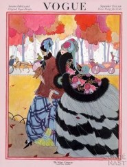 Vogue cover September 1921 by Helen Dryden