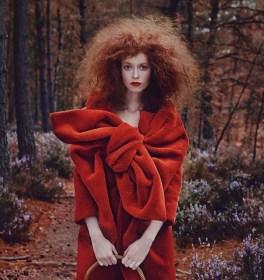 Red forest Vogue Taïwan November 2014