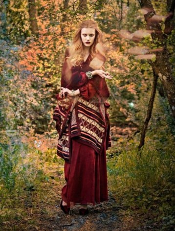 Elsa Brisinger for Elle Sweden Fall Shoot