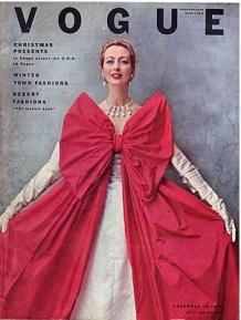 Vogue December 1950s