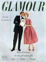 Glamour December 1950s