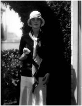 Lee Miller wearing Chanel