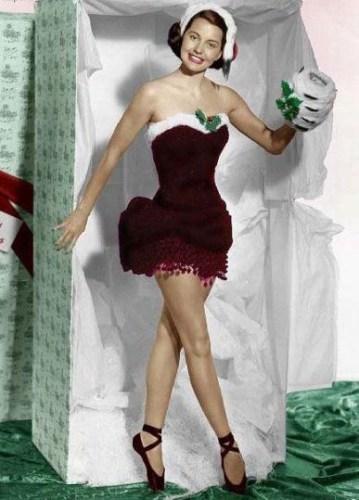 Cyd Charisse Christmas