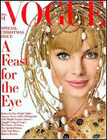 Jean Shrimpton by Irving Penn for Vogue December 1967