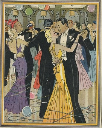 New year party 1930s