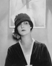 Velvet cloche by Reboux 1925