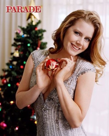 Amy Adams by Matt Jones for PARADE December 2010, Christmas editorial
