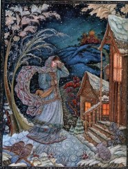 Russian Christmas illustration