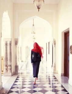 Vittoria Ceretti by Mario Testino for Vogue