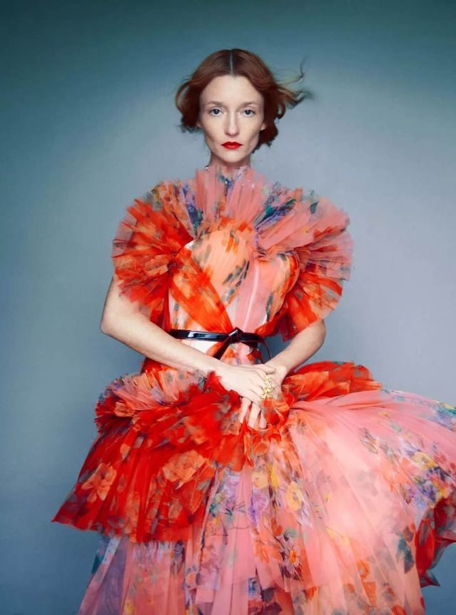 Audrey Marnay by Erik Madigan Heck for UK Harper's Bazaar April 2018